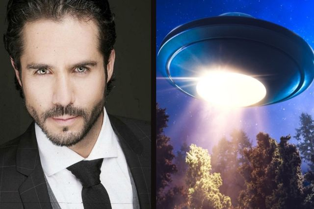 El actor José Ron asombrado cuenta su experiencia al ver un OVNI