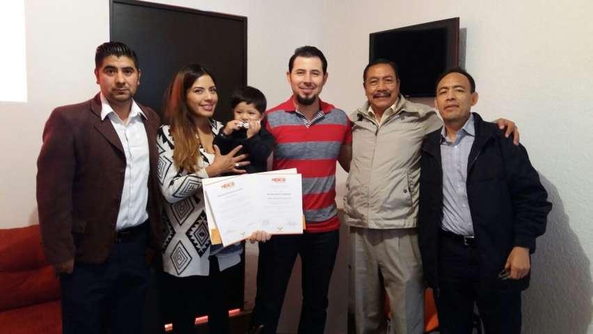 Reconoce la FMV de MC a Efrén Espinosa Rodríguez, destacado Beisbolista Profesional