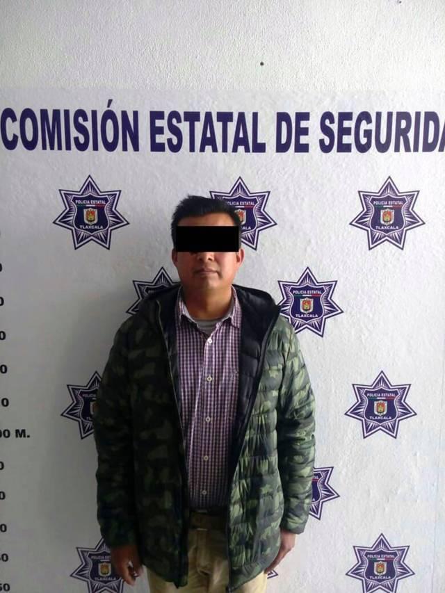Aseguran a un hombre con posesión de arma de fuego en Xaloztoc