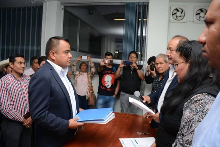 Se registra Ángelo Gutiérrez, va por la Dirigencia Estatal del PAN