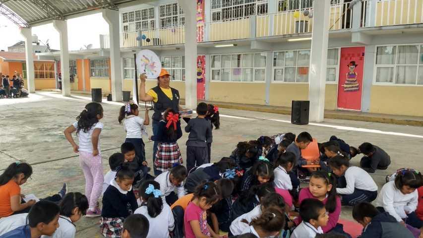Proyecto a las faldas del Matlalcuéyetl refuerza estrategias de fomento a la lectura en Tlaxcala
