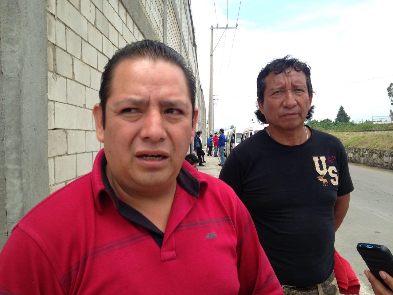 Desmienten choferes de ruta Ocotlán-Chiautempan cobró de cuota