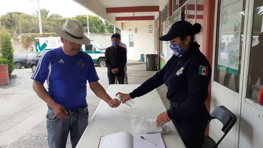 Controlan acceso a la alcaldía de Xiloxoxtla, refuerzas acciones preventivas