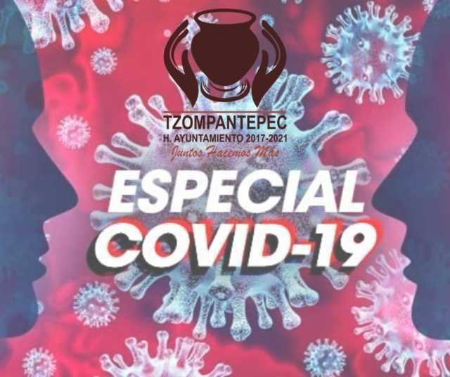 Realizará gobierno de Tzompantepec sanitización de inmuebles en el municipio
