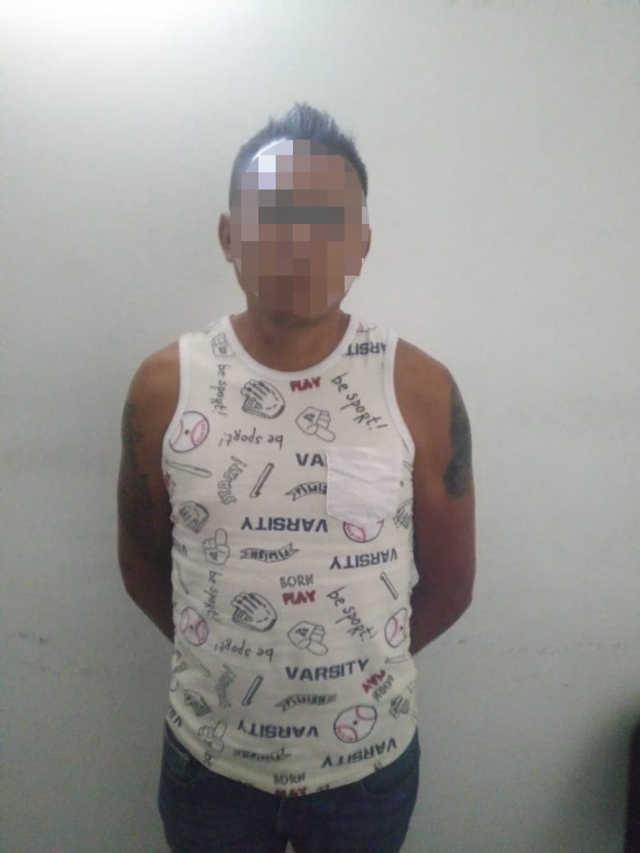 Asegura la SSC a persona por portación ilegal de cartuchos para arma de fuego en Lardizábal