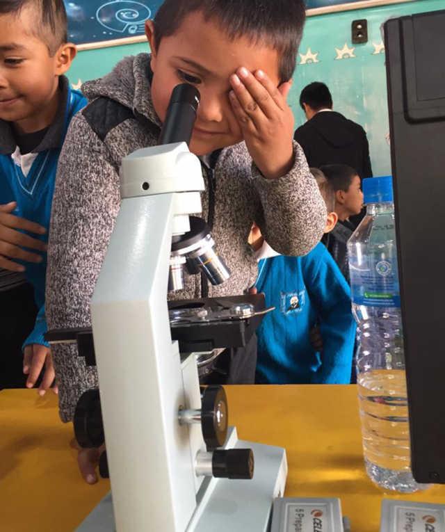 Tetla recibe el tráiler Itinerante de la Ciencia Tecnología e Innovación