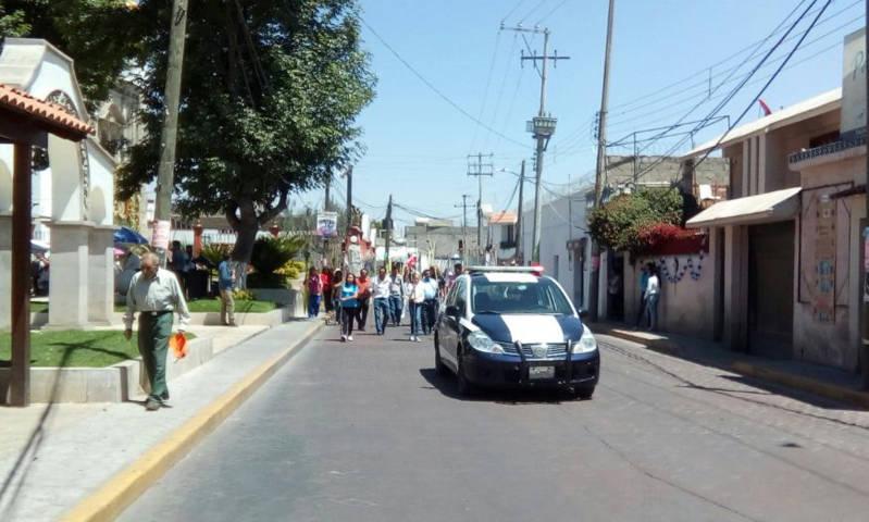 Dio inicio operativo Semana Santa 2018 en Texoloc