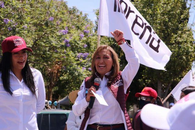 Falta poco para terminar con el despilfarro y la corrupción, advierte Lorena Cuéllar