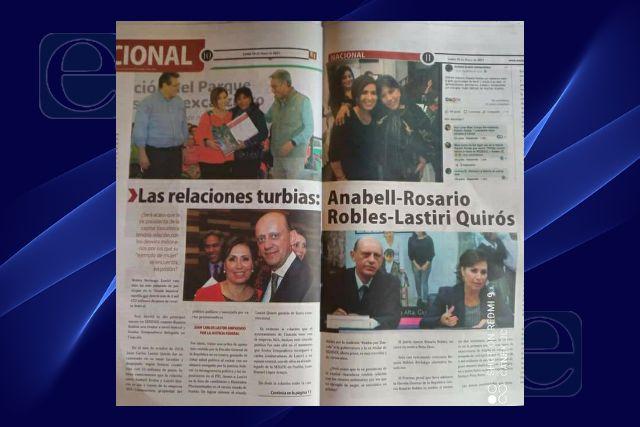 Anabell Ávalos podría ser cómplice en la Estafa Maestra; sugiere publicación