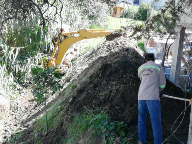 Anuncia alcalde Giovanni Pérez Briones el inicio de desazolve en barrancas
