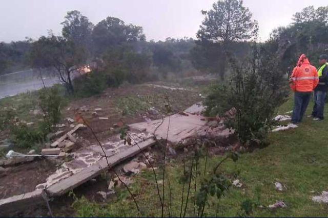Atiende CEPC reportes de daños por lluvia en Texoloc