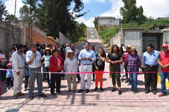Después de 30 años trasformamos la calle Juárez de Tenanyecac: alcalde