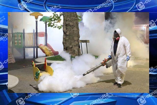 Tras confirmarse covid en Terrenate, comuneros de Villareal piden sanitización