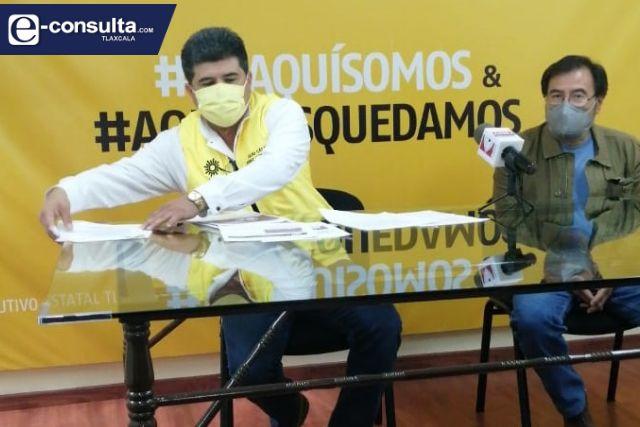 Se envalentona el PRD, quiere tirar la candidatura de Lorena Cuéllar