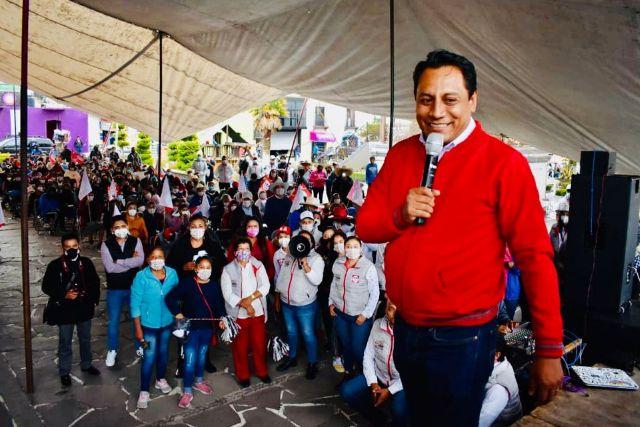 Hueyotlipan será municipio de crecimiento y progreso: SAGA