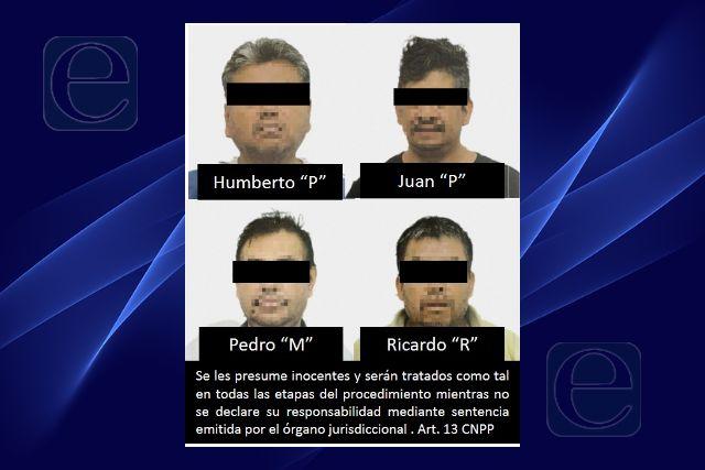 La FGR obtiene vinculación a proceso de cuatro personas por portación de arma de fuego