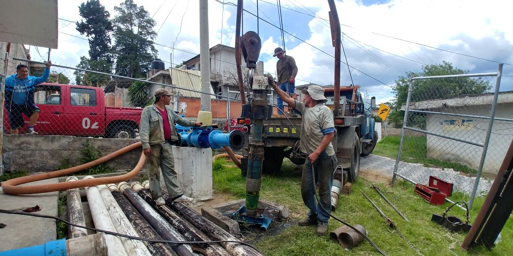 Regularizan el suministro de agua en Panotla