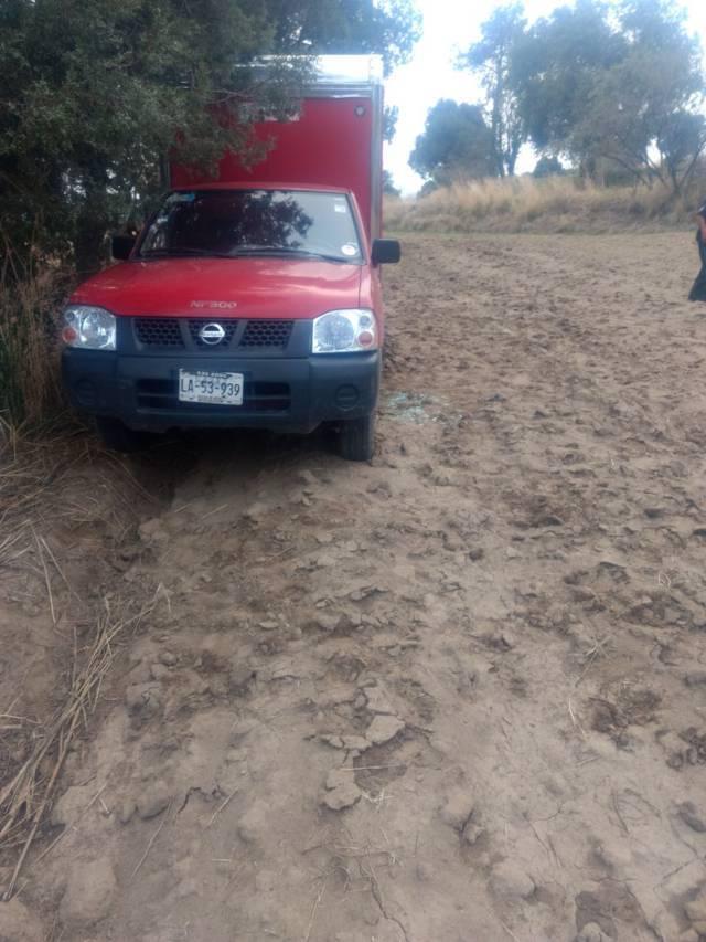 Policía de Ixtacuixtla recupera camioneta que fue robada en Españita