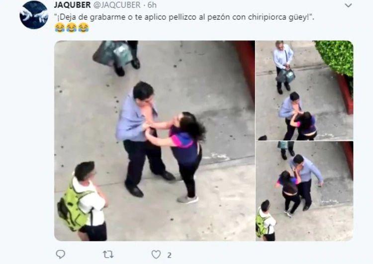 Surge Lady Histeria, una mujer que golpea a conductores en la CDMX