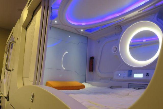 Crean el primer hotel estilo futurista en Bolivia
