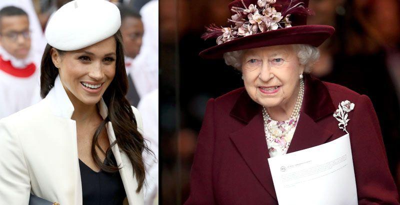 La reina Isabel acepta que la crianza que tuvo Meghan Markle no fue la adecuada