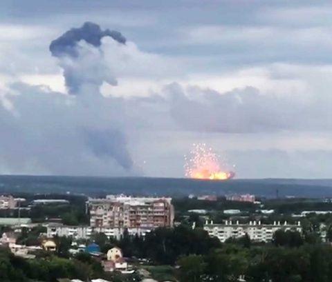 Incidente nuclear hace que abandonen  la ciudad rusa