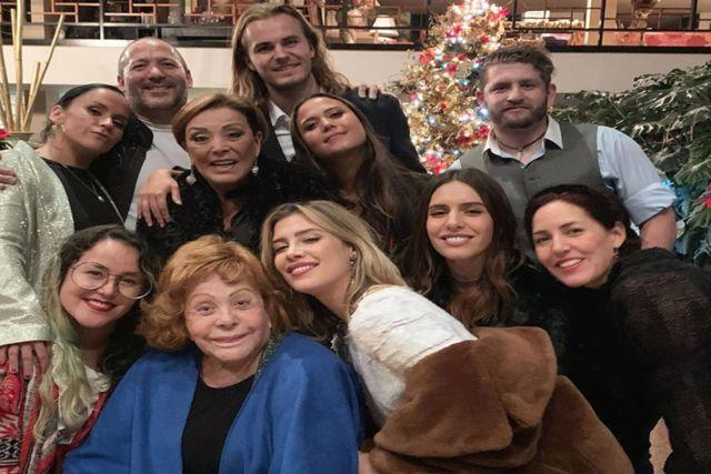 La Dinastía Pinal celebra  la Navidad tras la ausencia de Alejandra y Frida Sofía