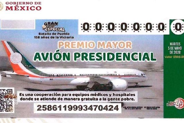Distribuyen en Jalisco 200 mil boletos a la venta para el sorteo del avión presidencial