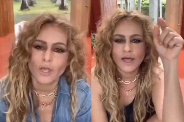 Paulina Rubio despierta rumores sobre su aparente estado durante su concierto virtual