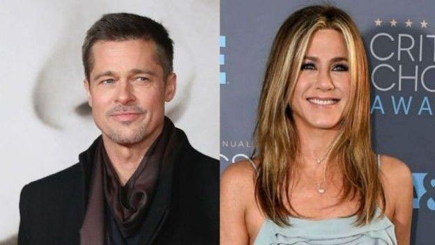Brad Pitt asiste al cumpleaños #50 de Jennifer Aniston