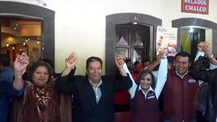 Se suman miembros del sindicato del 7 de mayo a MORENA