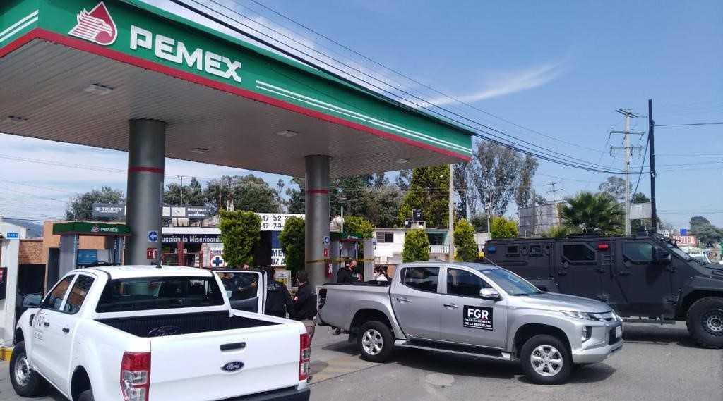 Cumplimenta la PFM una orden de cateo en una gasolinera en Tlaxcala