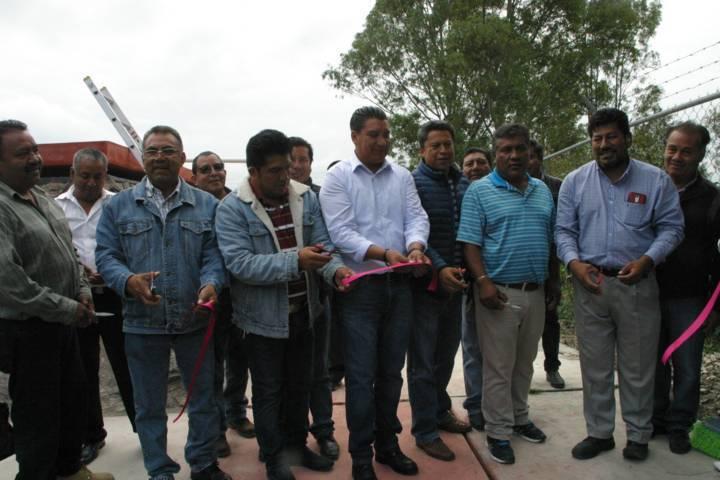 la rehabilitación del tanque de agua mejora el suministro a los hogares: alcalde