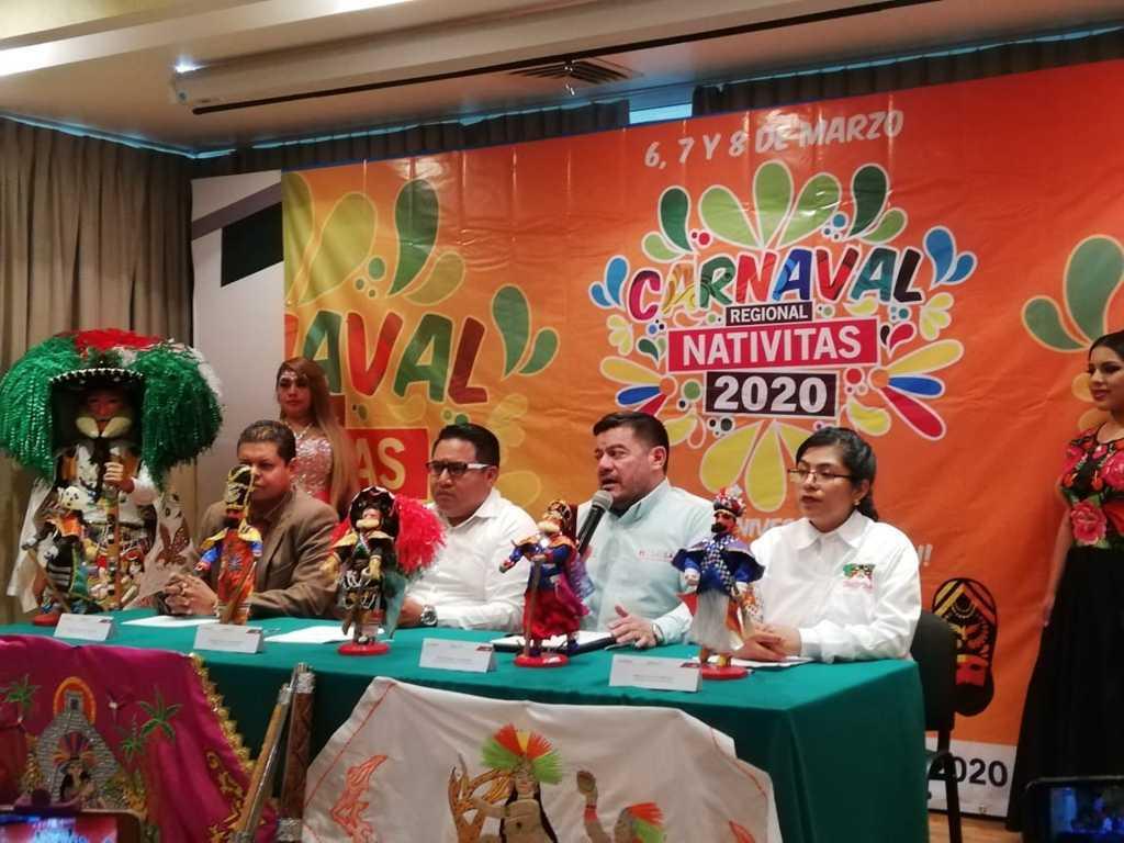Esperan 15 mil visitantes en el Carnaval de Nativitas y una derrama de 2 mdp