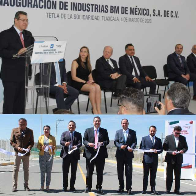 En Tetla abre sus puertas la empresa Industrias BM de México en CIX I