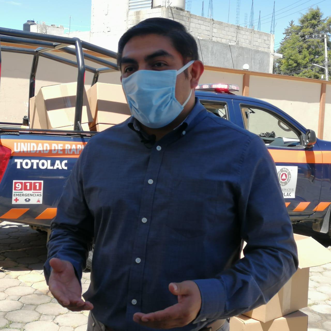 Prioriza Totolac, la prevención de riesgos laborales por Covid -19