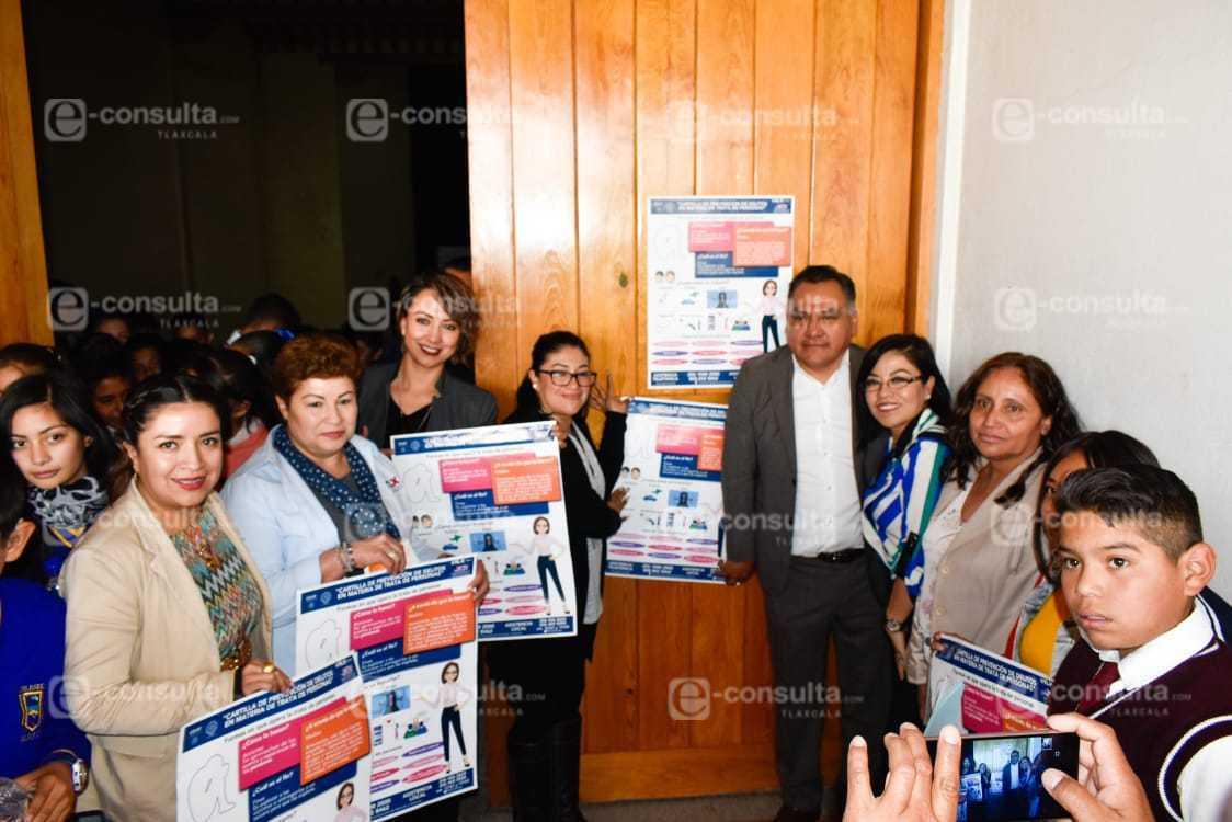 Llegó a Tetla la Campaña de Prevención contra la Trata de Personas