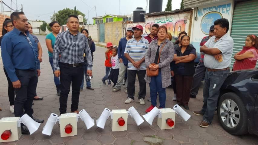 Con estas alarmas vecinales haremos frente a la delincuencia: Pérez Rojas
