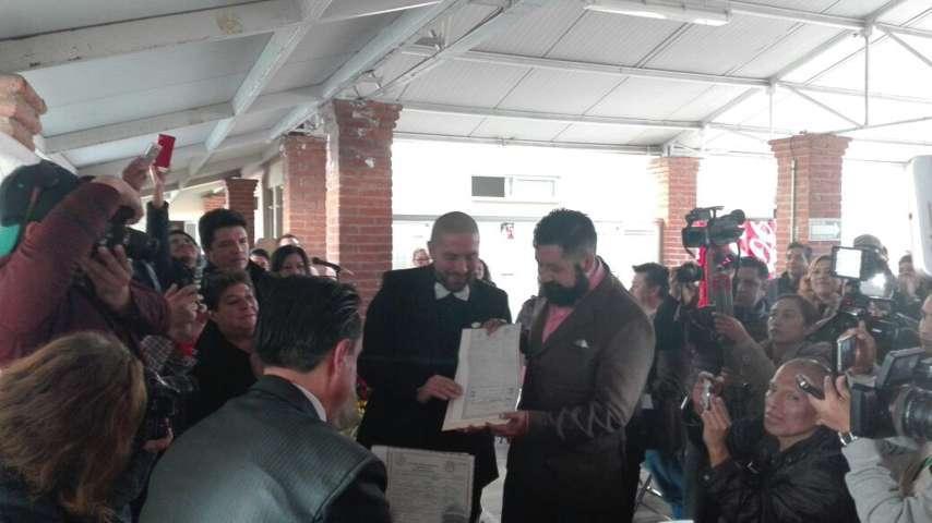 Festeja Tlaxcala segundo matrimonio igualitario entre hombres