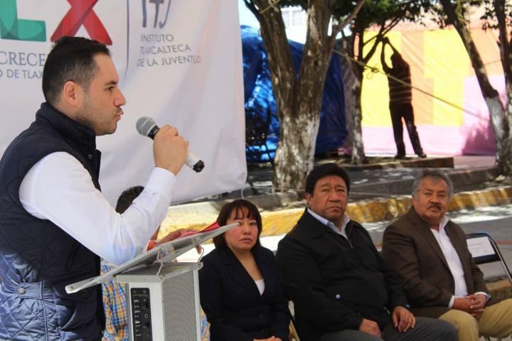 Alcalde pone en marcha nuevo Centro de Desarrollo Juvenil en Xocoyucan