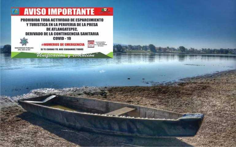 Prohíben toda actividad turística en la laguna de Atlangatepec