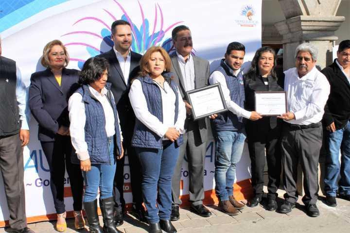 Coeprist certifica libre humo de tabaco al ayuntamiento de Yauhquemehcan