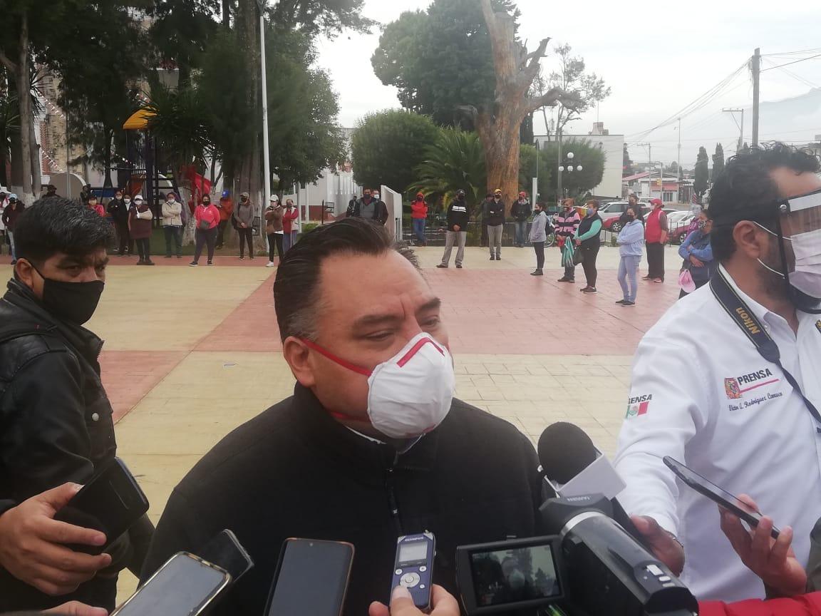 Uso de cubrebocas ayudará a enfrentar la pandemia del Covid: Molina Pérez