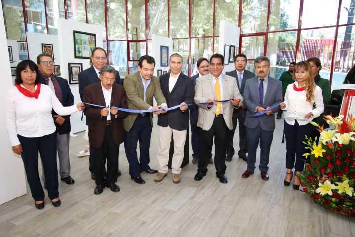 """Apertura la UATx la muestra """"La Plástica del Bosque de Chapultepec"""""""