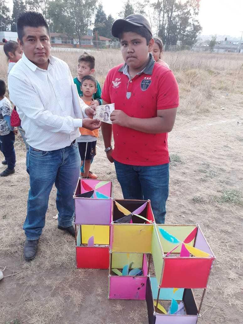 Detona creatividad concurso de papalotes en Xiloxoxtla