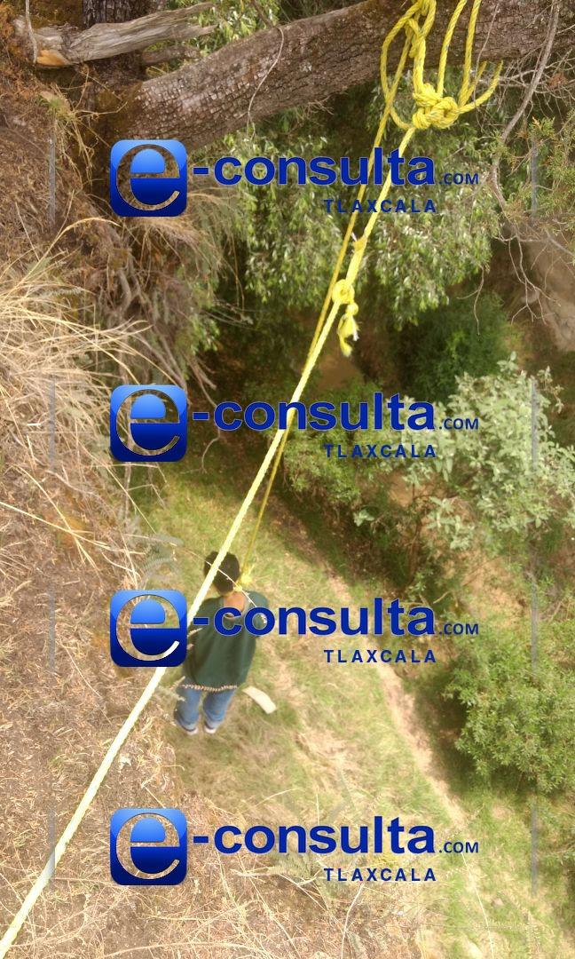 Se suicida sujeto en San Andrés Ahuashuatepec, Tzompantepec