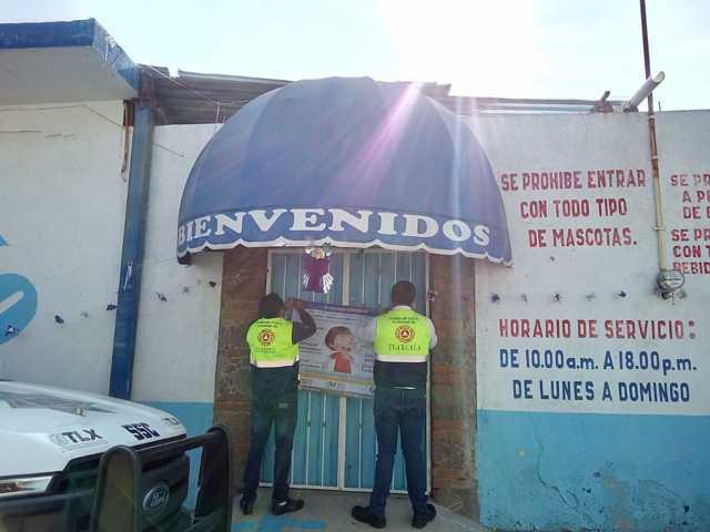 Realizan inspección de balnearios en Ixtacuixtla