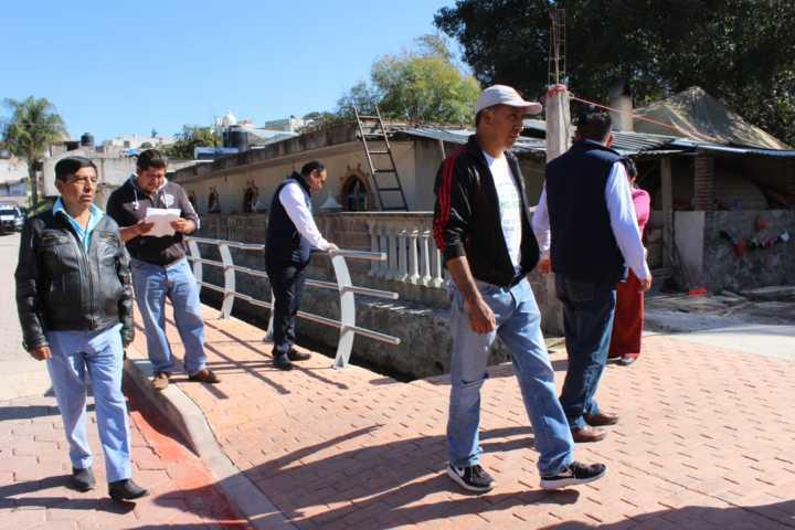 Alcalde impulsa el desarrollo de 4 calles con casi 3 millones de pesos