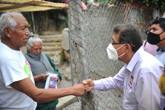 Serafín Ortiz establece diálogo directo con ciudadanos