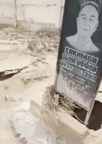 Aparecen misteriosos agujeros en tumbas de un cementerio en Tailandia